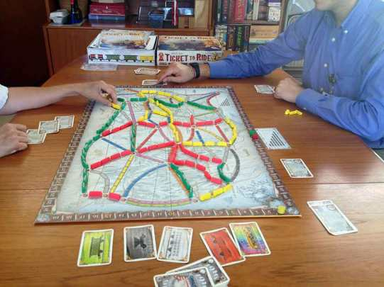 "Crossing the US on ""Ticket to Ride"""